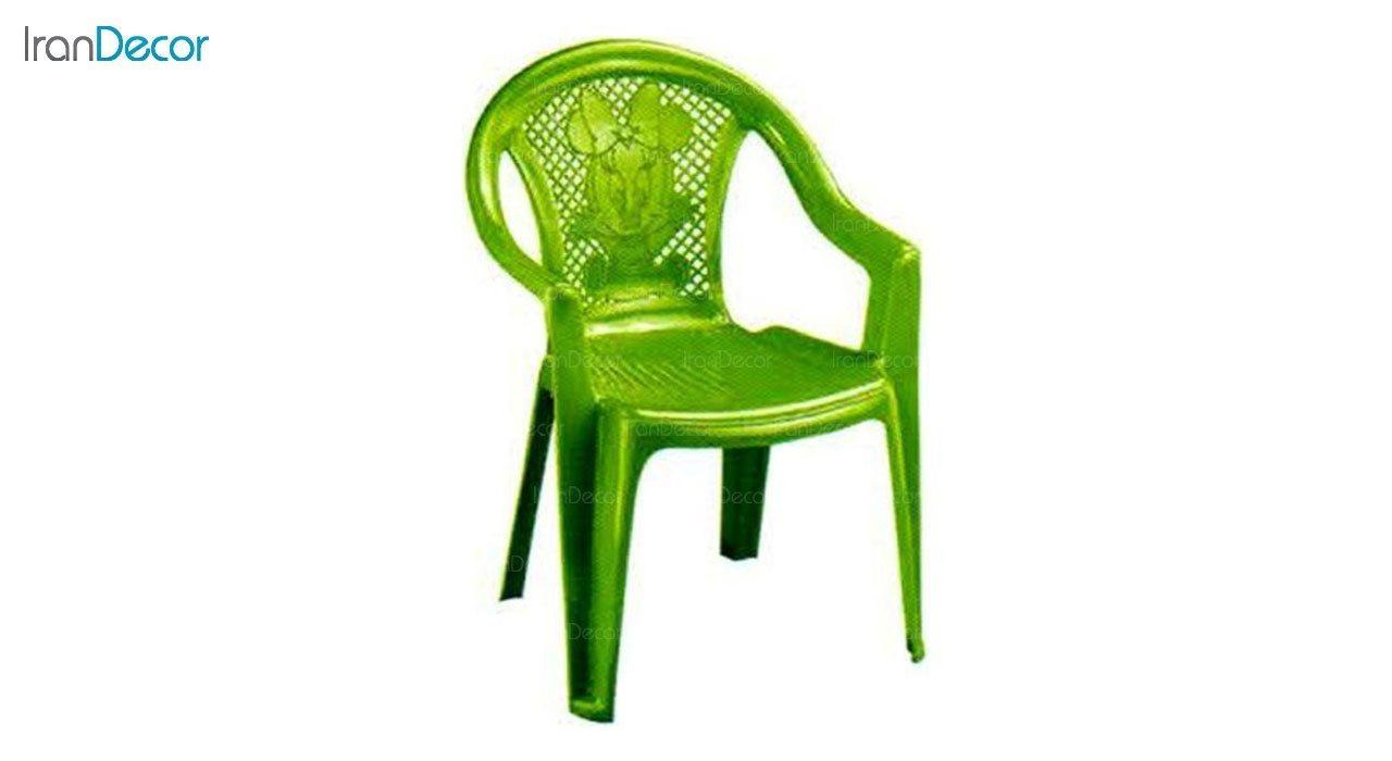 تصویر صندلی پلاستیکی دسته دار کودک ناصر پلاستیک مدل 780