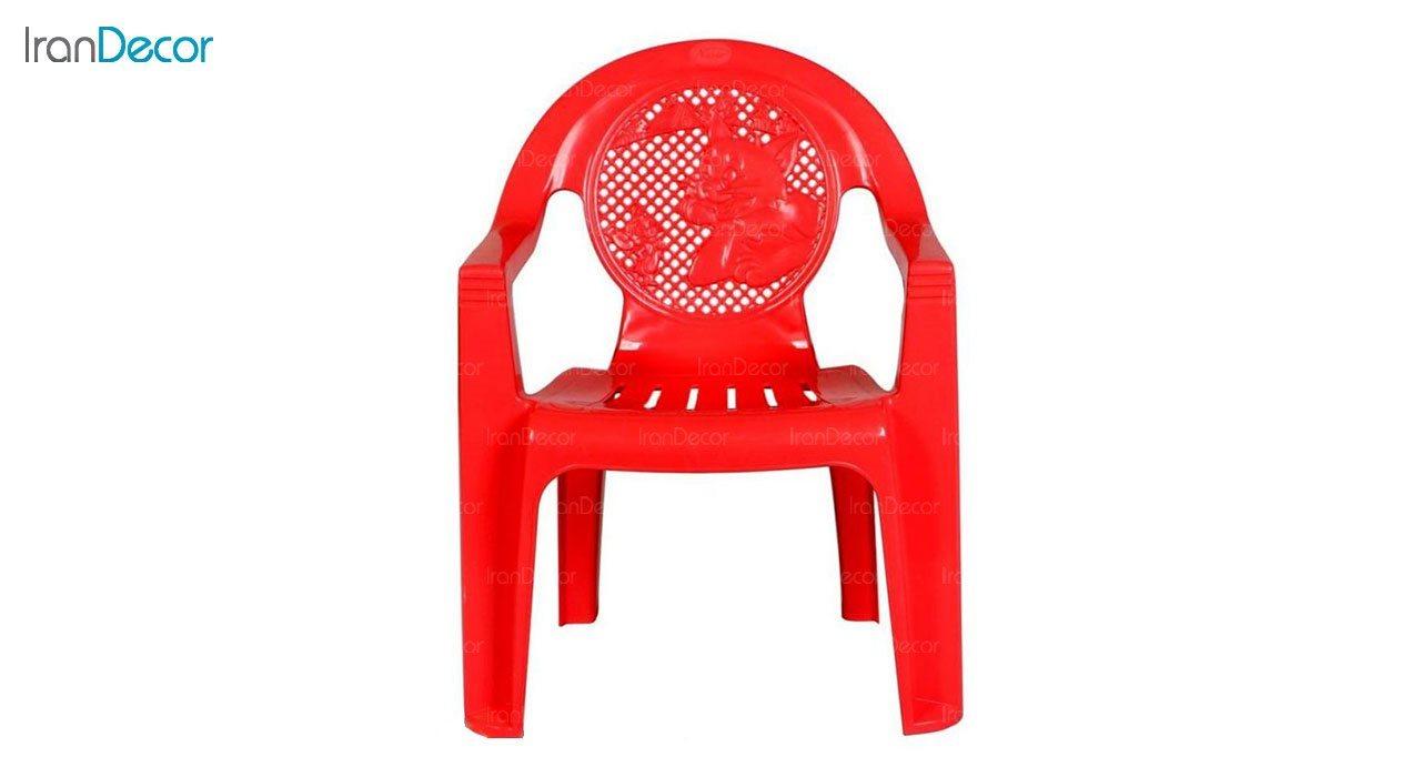 تصویر صندلی پلاستیکی دسته دار کودک ناصر پلاستیک مدل 860