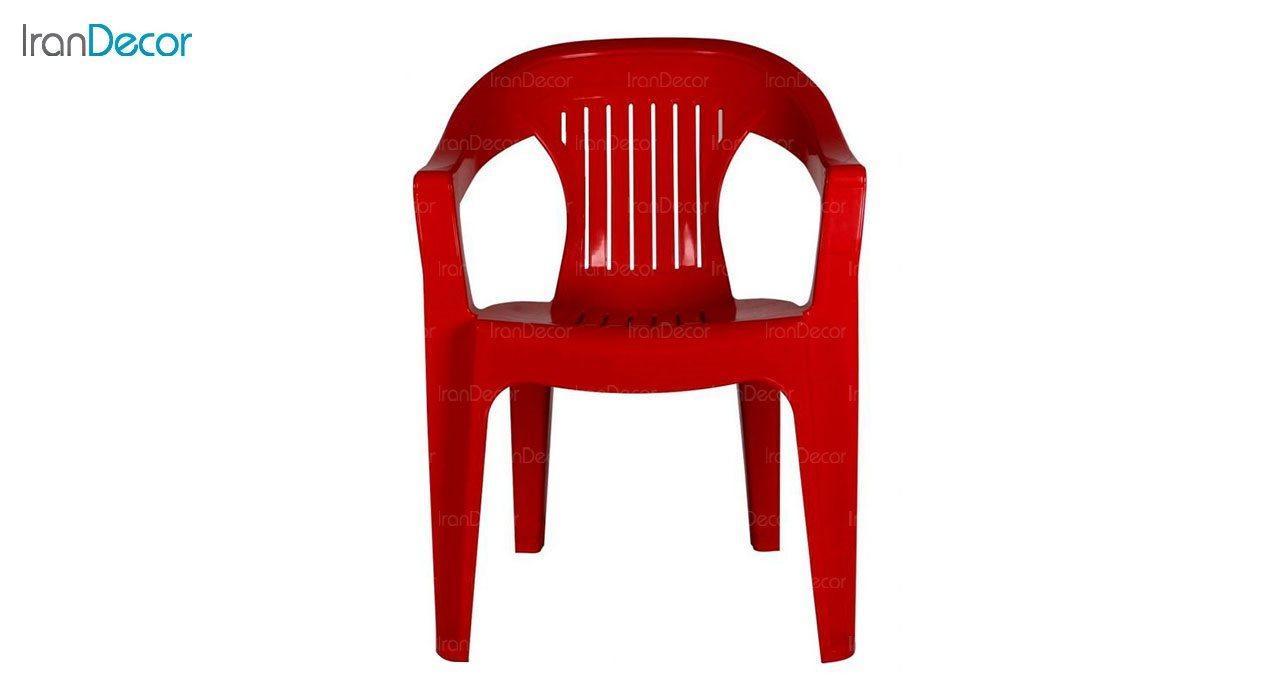 تصویر صندلی پلاستیکی دسته دار ناصر پلاستیک مدل 868