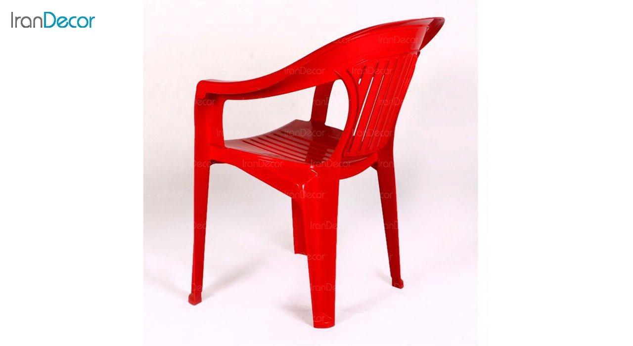 عکس صندلی پلاستیکی دسته دار ناصر پلاستیک مدل 868