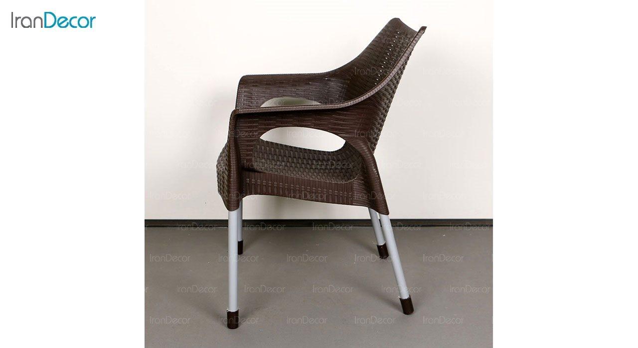 تصویر صندلی پلاستیکی دسته دار ناصر پلاستیک مدل 991
