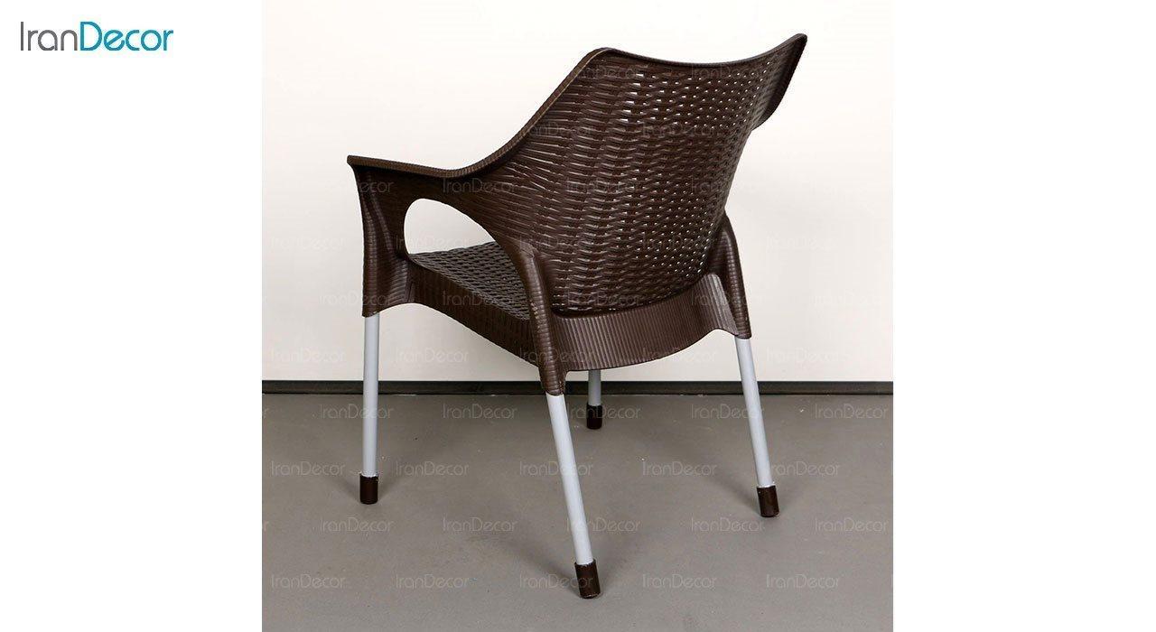 عکس صندلی پلاستیکی دسته دار ناصر پلاستیک مدل 991