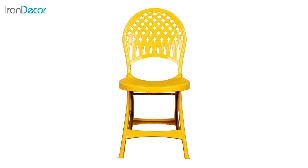 تصویر صندلی پلاستیکی تاشو ناصر پلاستیک مدل 857
