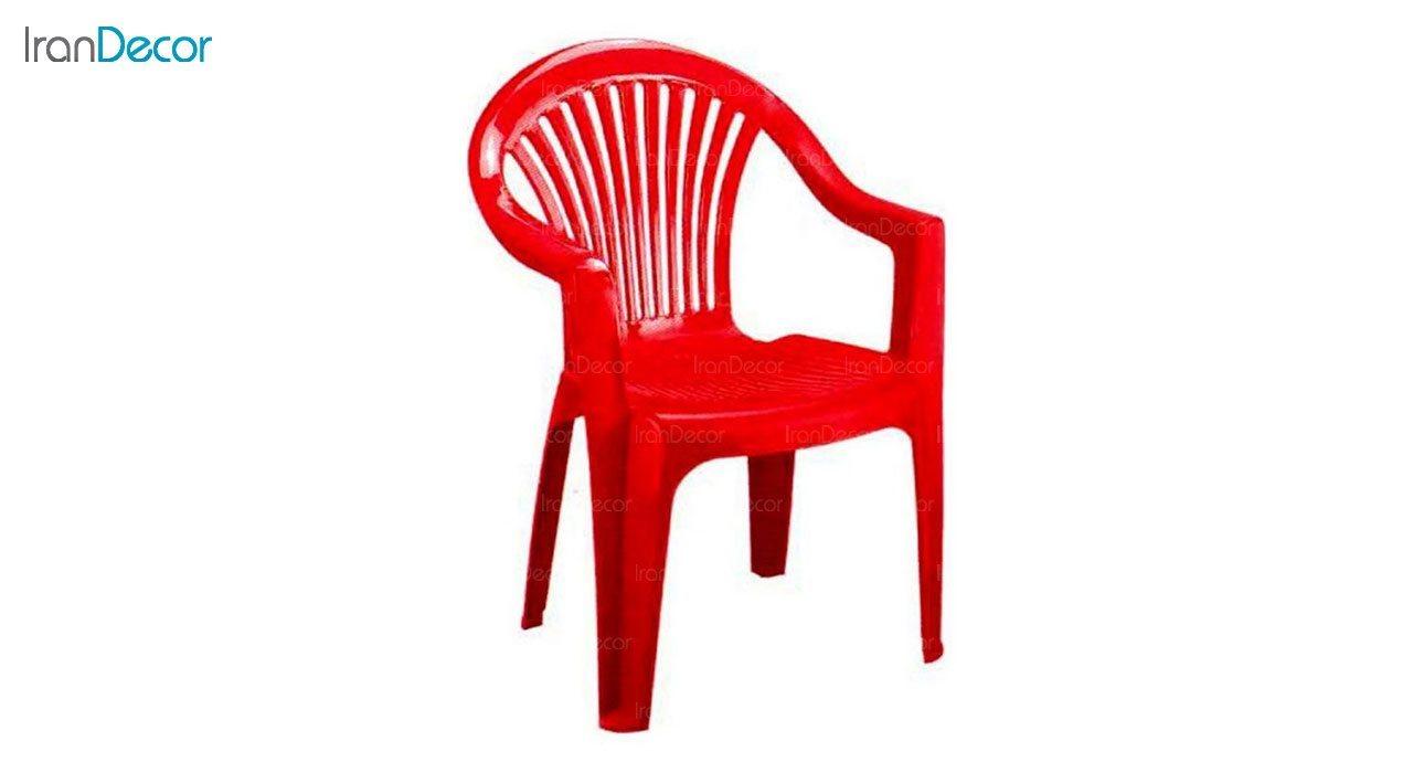 تصویر صندلی پلاستیکی دسته دار ناصر پلاستیک مدل 810