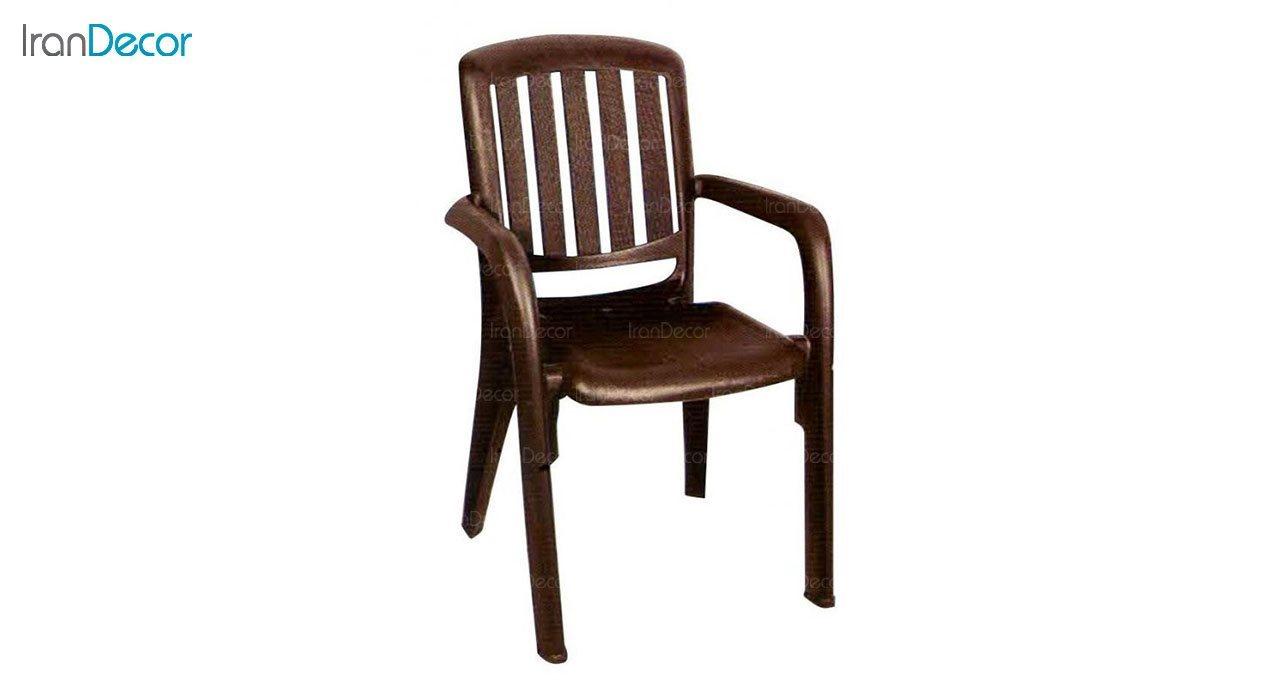 تصویر صندلی پلاستیکی دسته دار ناصر پلاستیک مدل 886