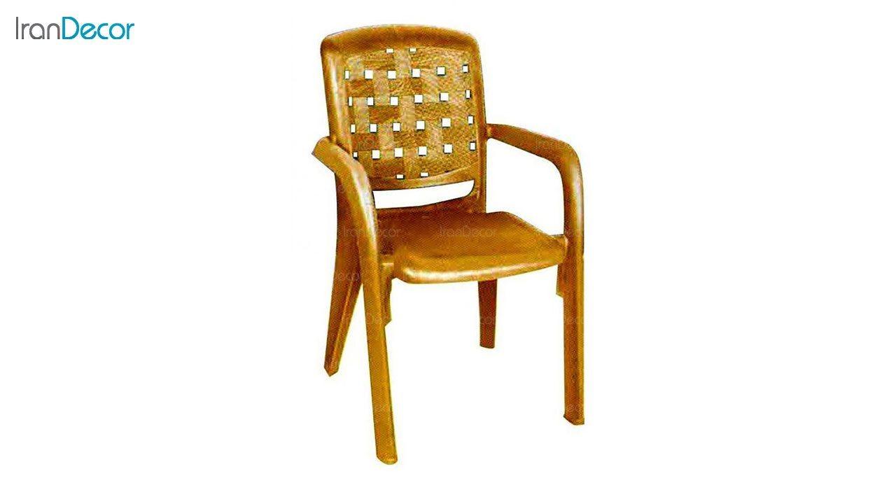 تصویر صندلی پلاستیکی دسته دار ناصر پلاستیک مدل 885
