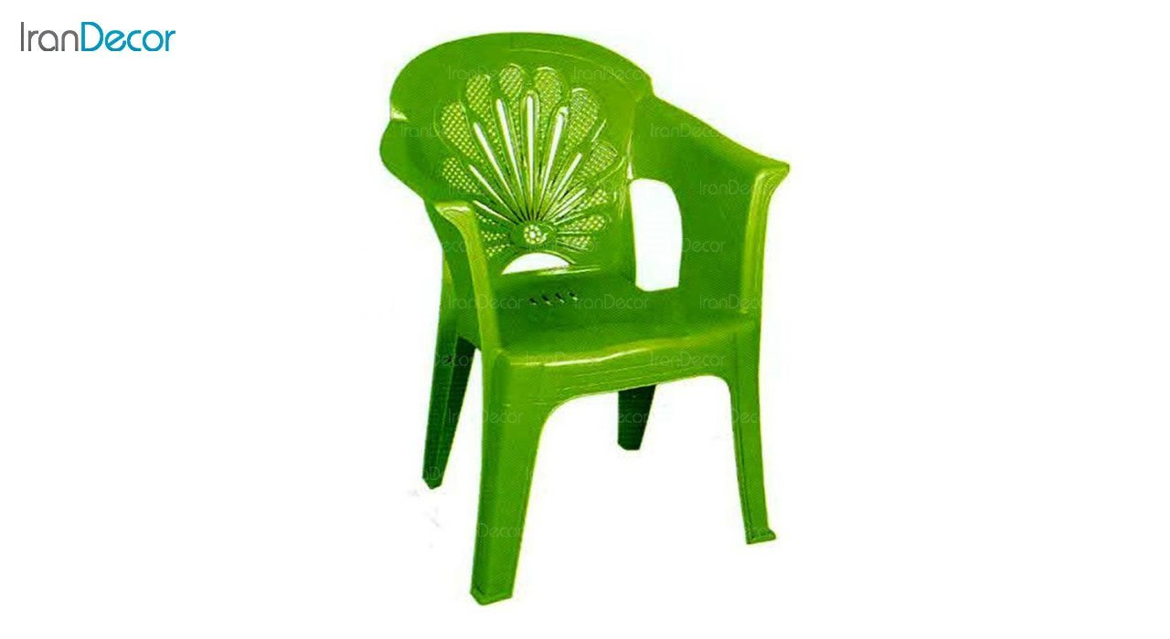 تصویر صندلی پلاستیکی دسته دار ناصر پلاستیک مدل 888