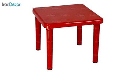 تصویر میز کودک مربع ناصر پلاستیک مدل 828