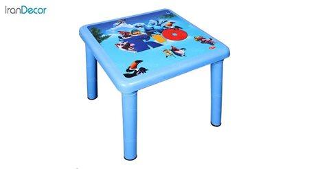تصویر میز کودک مربع ناصر پلاستیک مدل 928