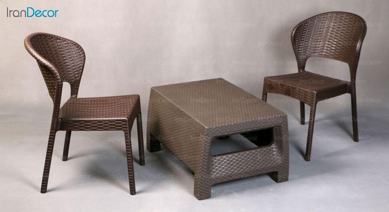 تصویر ست میز و صندلی پلاستیکی ناصر پلاستیک مدل 972
