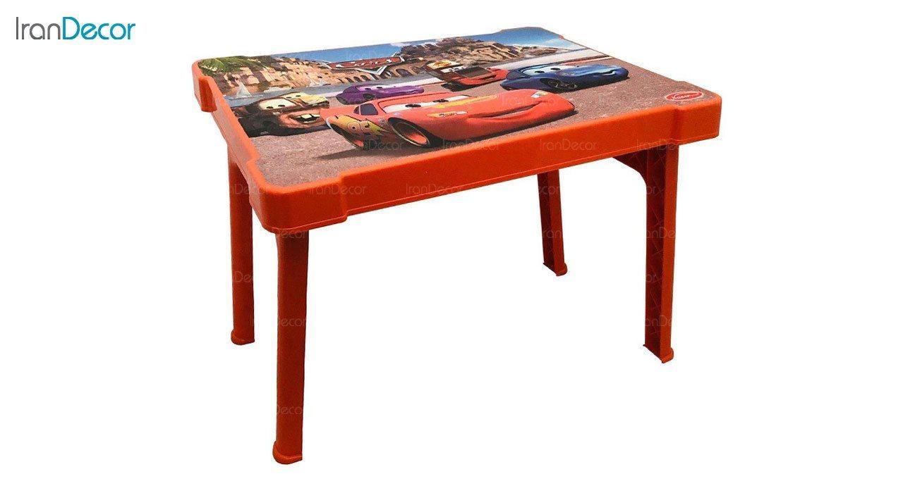 تصویر میز تحریر تاشو کودک ناصر پلاستیک مدل مک کویین کد 927