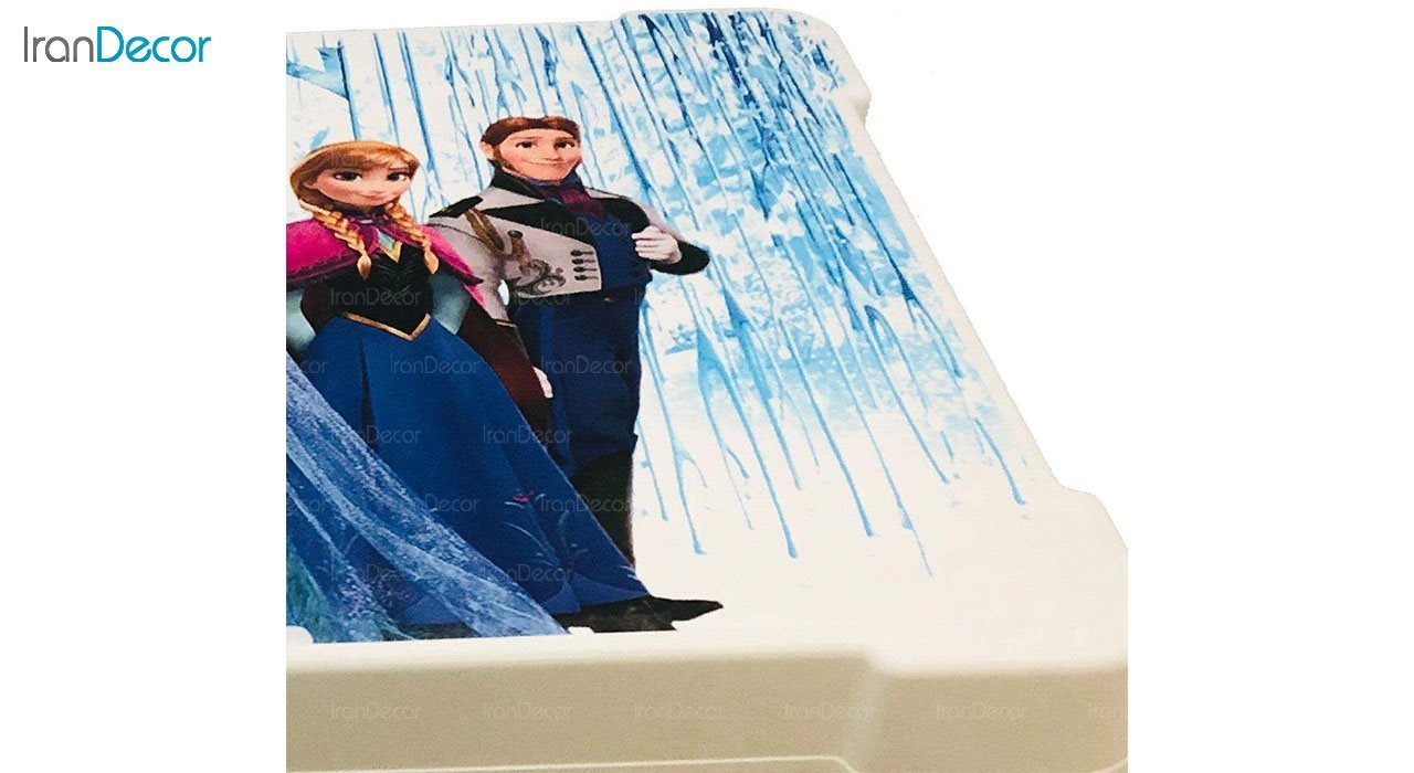 تصویر میز تحریر تاشو کودک ناصر پلاستیک مدل فروزن کد 927