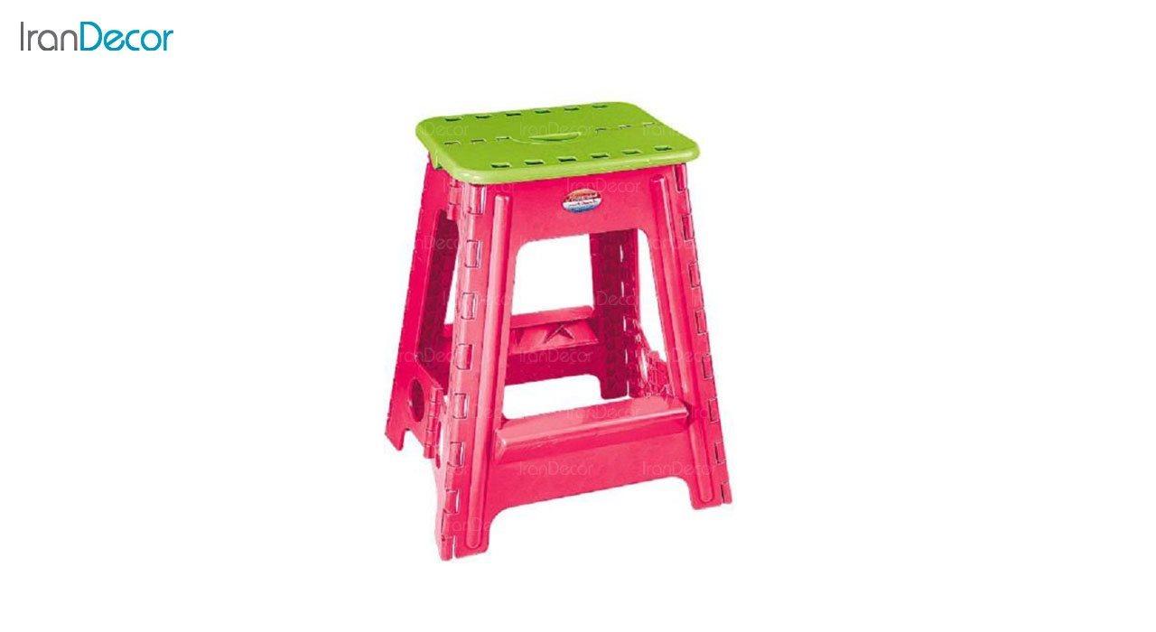 تصویر چهارپایه پلاستیکی ناصر پلاستیک مدل 518