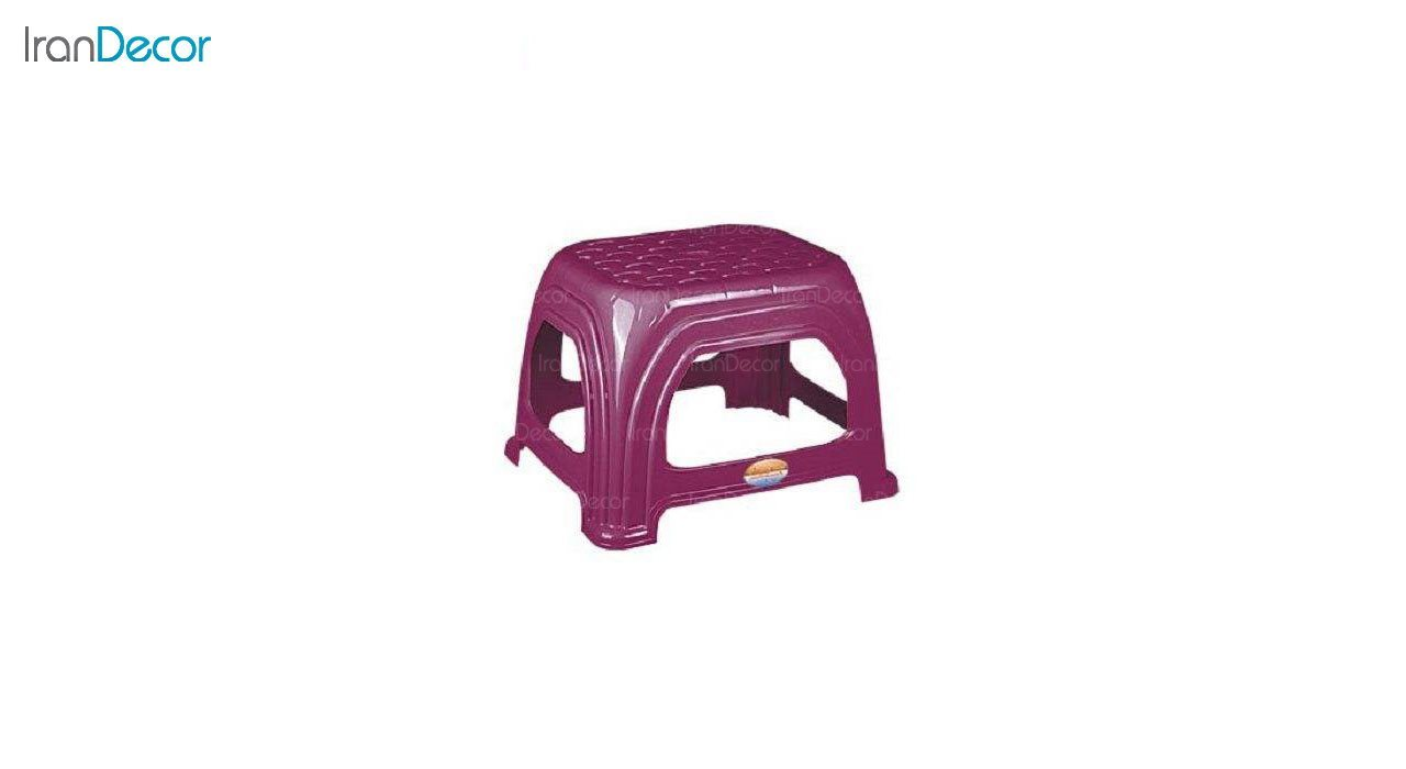 تصویر چهارپایه پلاستیکی ناصر پلاستیک مدل 819