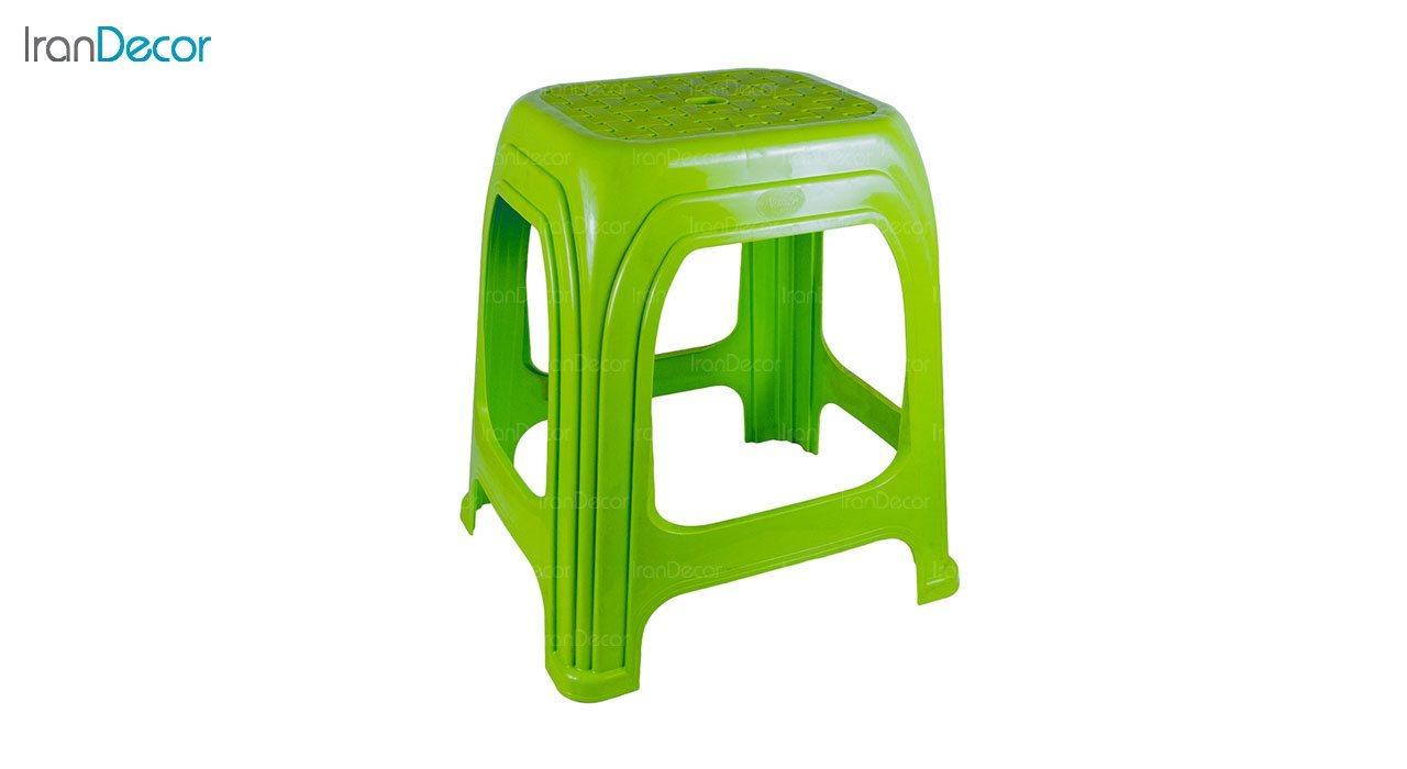 عکس چهارپایه پلاستیکی ناصر پلاستیک مدل 819