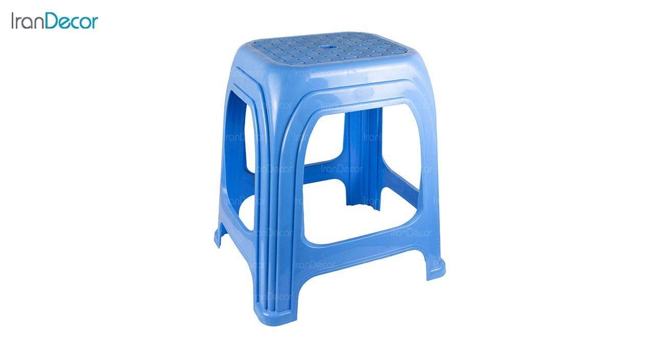 عکس چهارپایه پلاستیکی ناصر پلاستیک مدل 1217