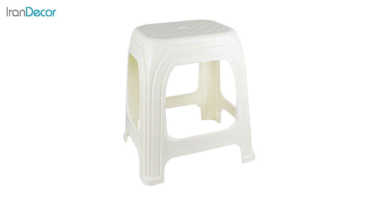 تصویر چهارپایه پلاستیکی ناصر پلاستیک مدل 1217