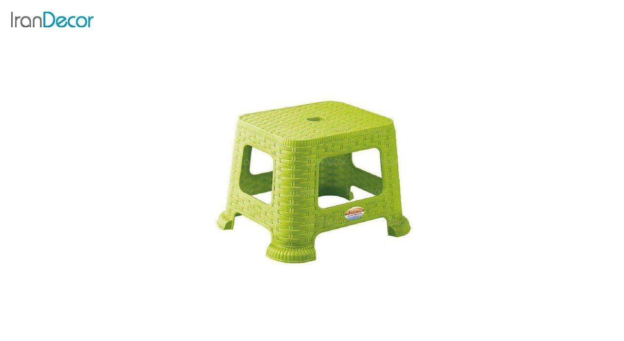 تصویر چهارپایه پلاستیکی ناصر پلاستیک مدل 865