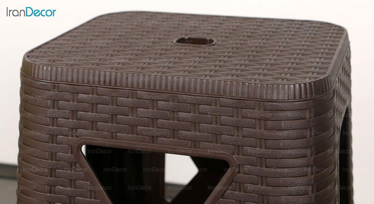 تصویر چهارپایه پلاستیکی ناصر پلاستیک مدل 867