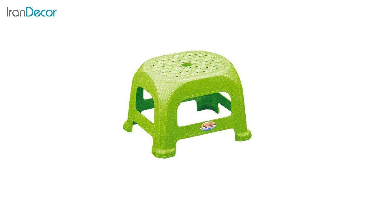 تصویر چهارپایه پلاستیکی ناصر پلاستیک مدل 836