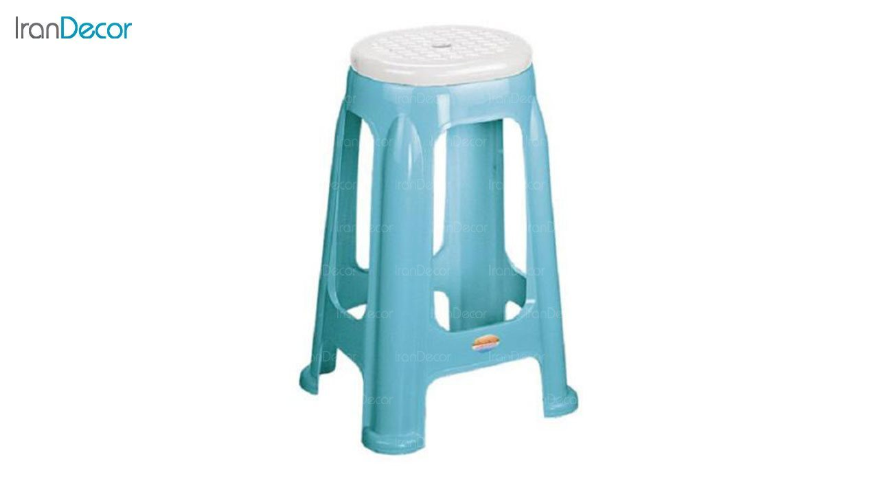 تصویر چهارپایه پلاستیکی ناصر پلاستیک مدل 1417