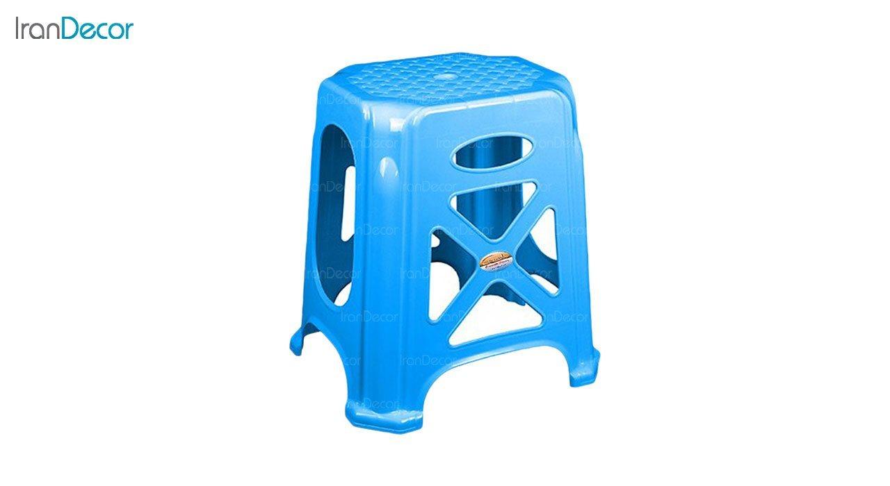 تصویر چهارپایه پلاستیکی ناصر پلاستیک مدل 1017