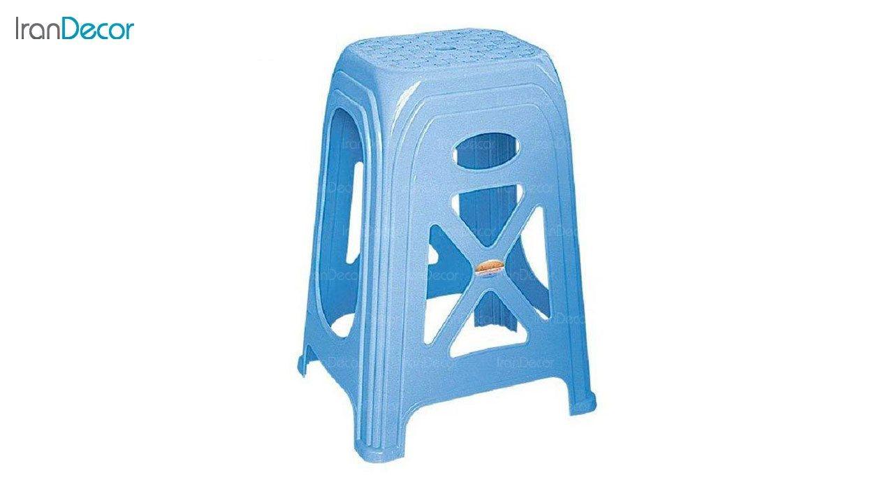 عکس چهارپایه پلاستیکی ناصر پلاستیک مدل 1017