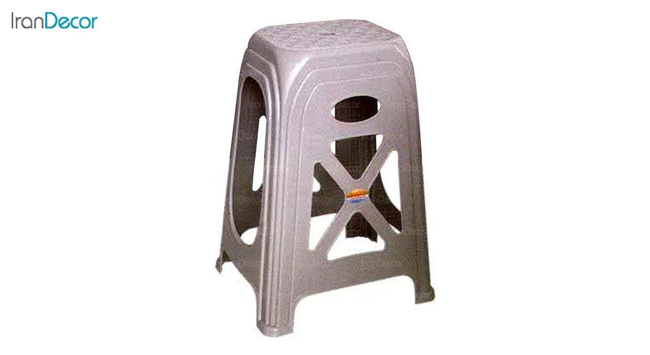 تصویر چهارپایه پلاستیکی ناصر پلاستیک مدل 1717