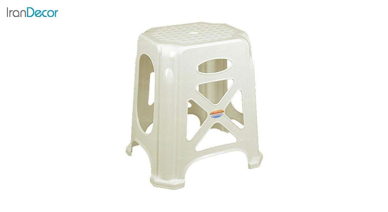 عکس چهارپایه پلاستیکی ناصر پلاستیک مدل 1717