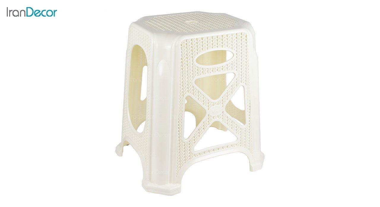 تصویر چهارپایه پلاستیکی ناصر پلاستیک مدل 1317