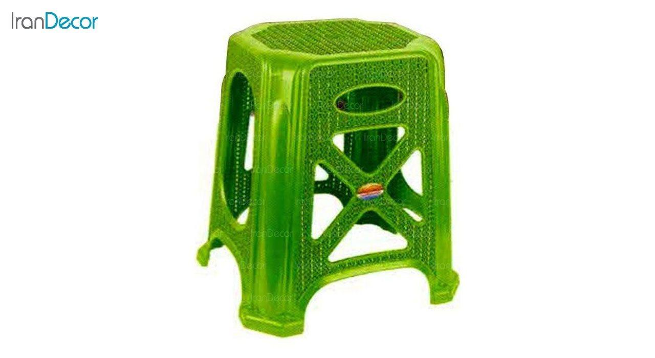 عکس چهارپایه پلاستیکی ناصر پلاستیک مدل 1317