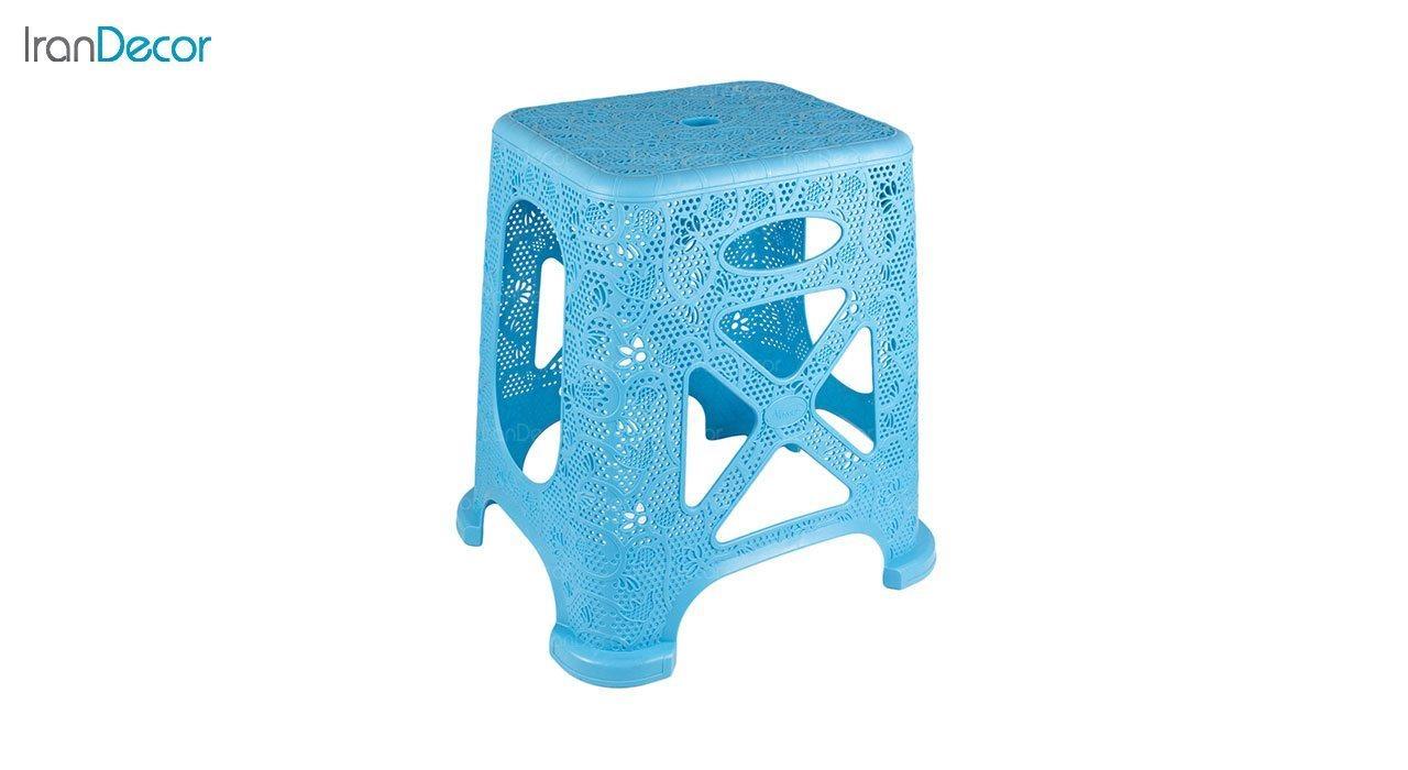 عکس چهارپایه پلاستیکی ناصر پلاستیک مدل 1117