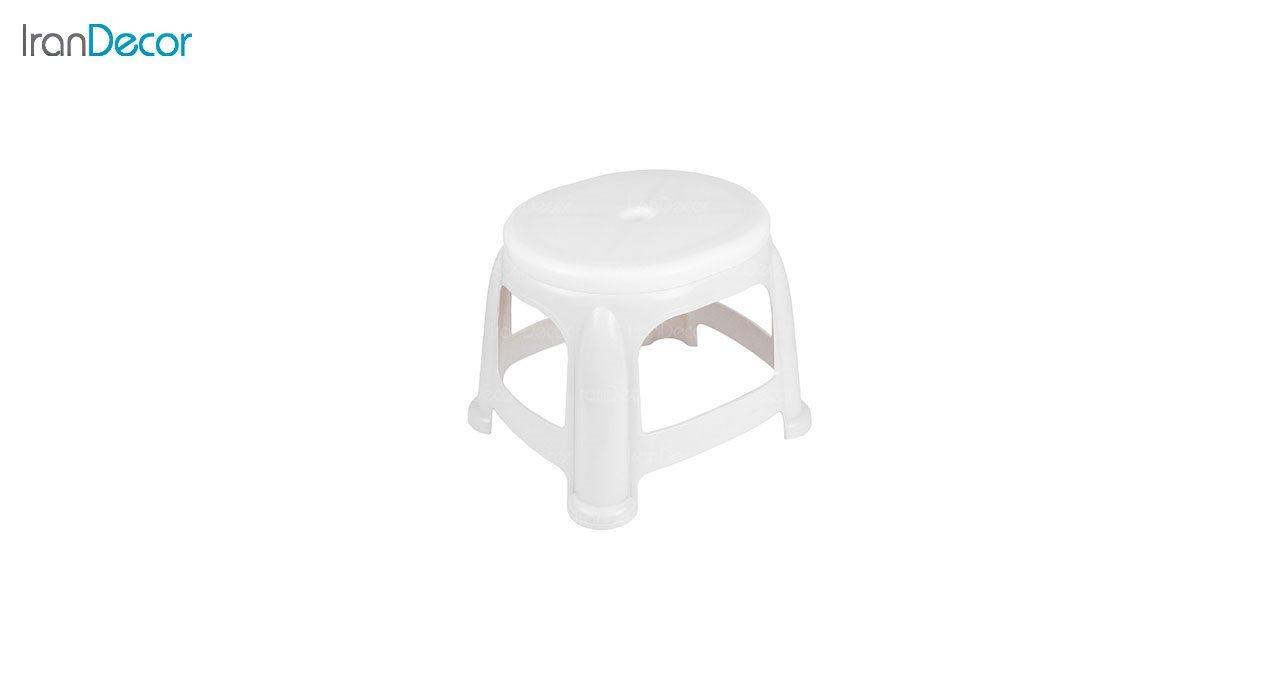عکس چهارپایه پلاستیکی ناصر پلاستیک مدل 919