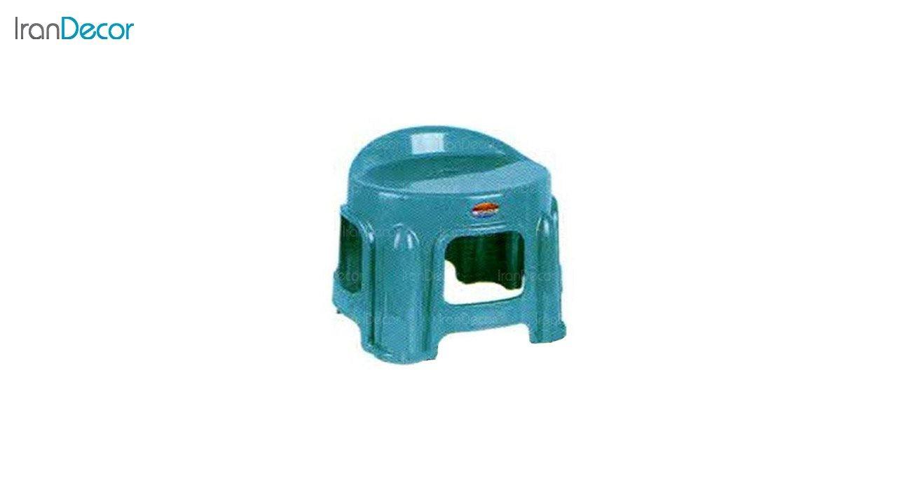 تصویر چهارپایه پلاستیکی ناصر پلاستیک مدل 1212