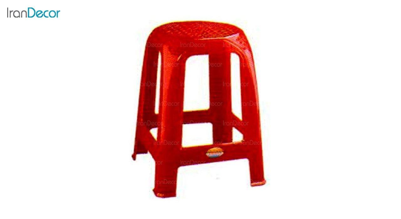 تصویر چهارپایه پلاستیکی ناصر پلاستیک مدل 818