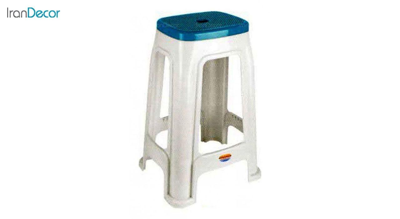 تصویر چهارپایه پلاستیکی ناصر پلاستیک مدل 1418