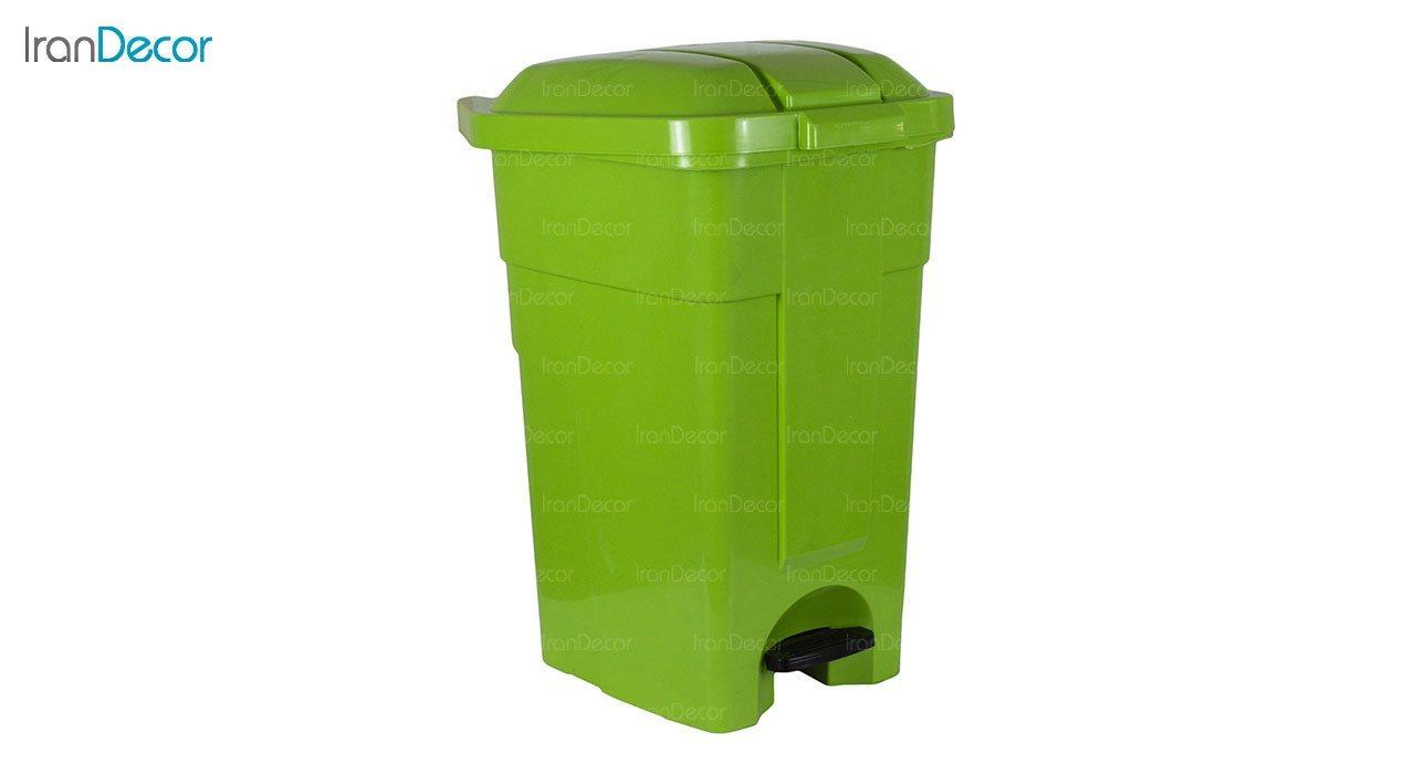 تصویر سطل زباله پلاستیکی ناصر پلاستیک مدل 4800