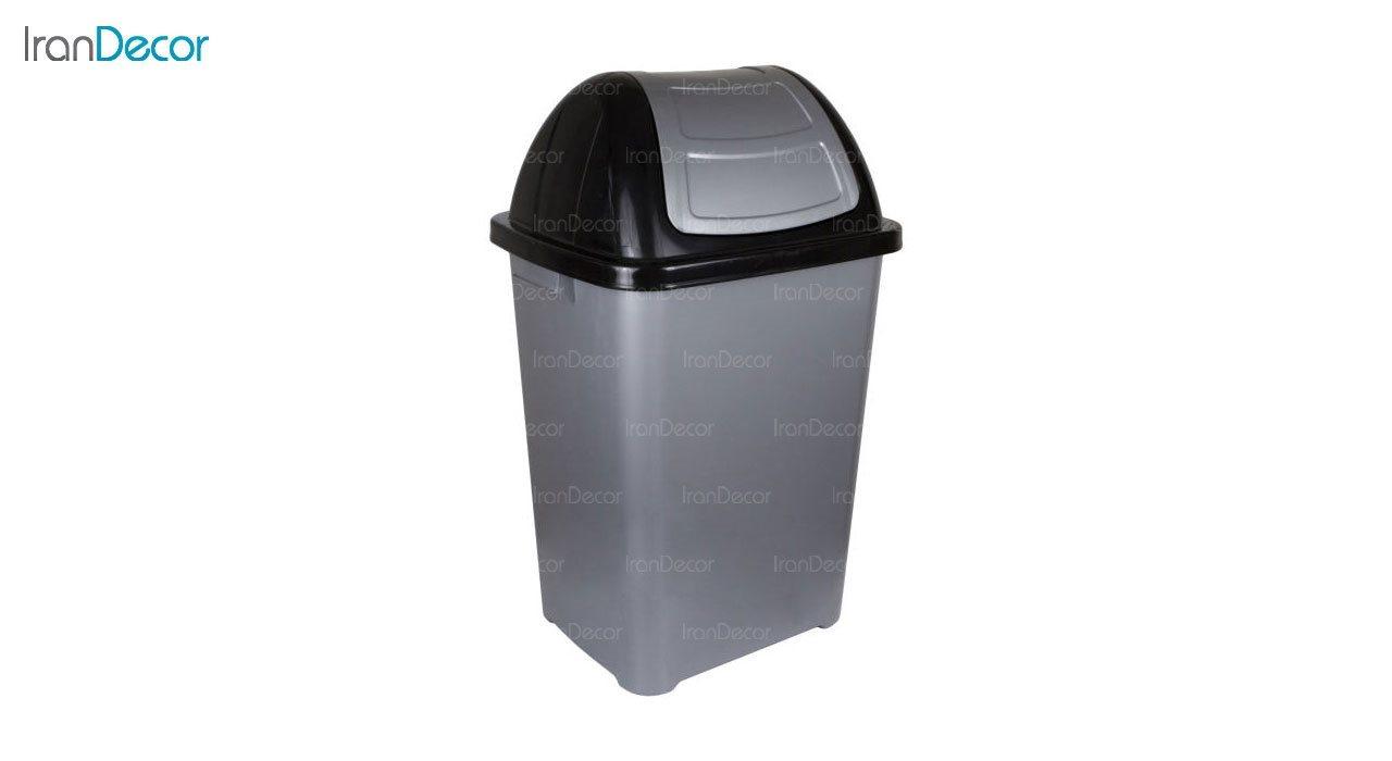 تصویر سطل زباله پلاستیکی ناصر پلاستیک مدل 5170