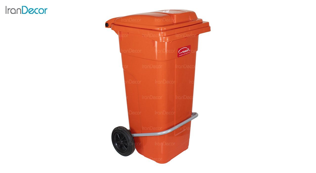 تصویر سطل زباله پلاستیکی ناصر پلاستیک مدل 5125