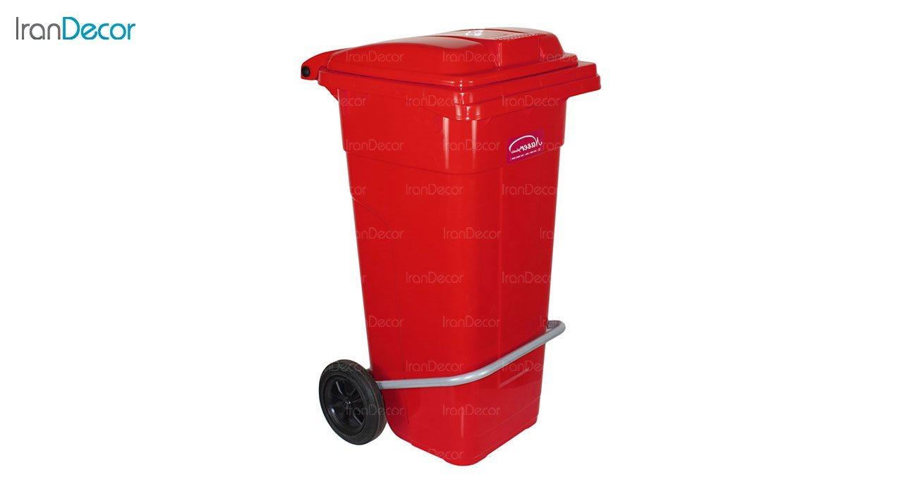 عکس سطل زباله پلاستیکی ناصر پلاستیک مدل 5125