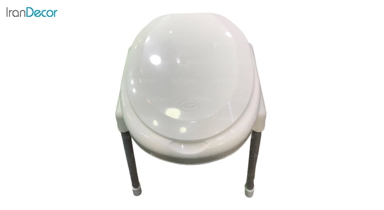 تصویر توالت فرنگی پلاستیکی ناصر پلاستیک مدل 950