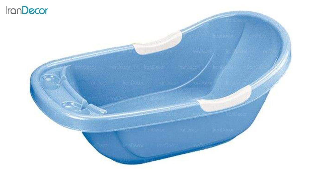 تصویر وان حمام نوزاد ناصر پلاستیک مدل شیما کد 2130