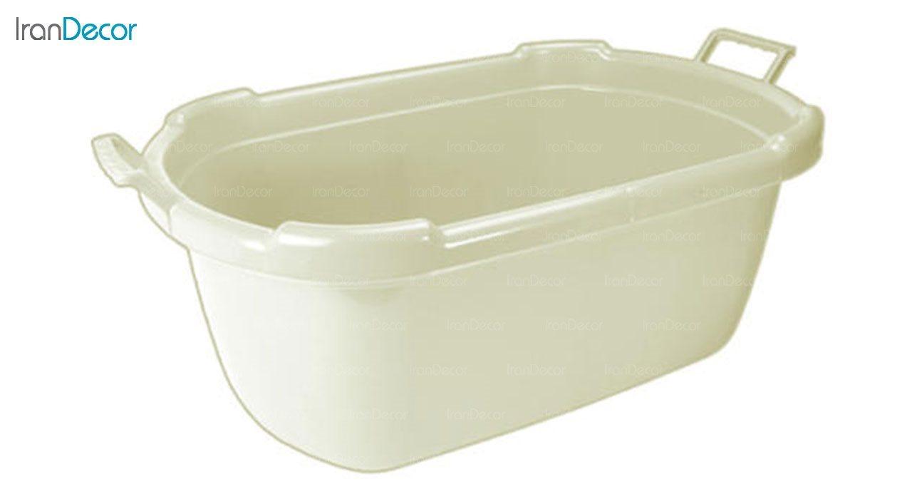 تصویر وان حمام نوزاد ناصر پلاستیک مدل کارون کد 2620