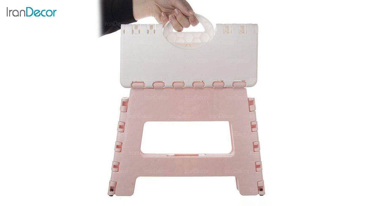 تصویر چهارپایه پلاستیکی ناصر پلاستیک مدل 517