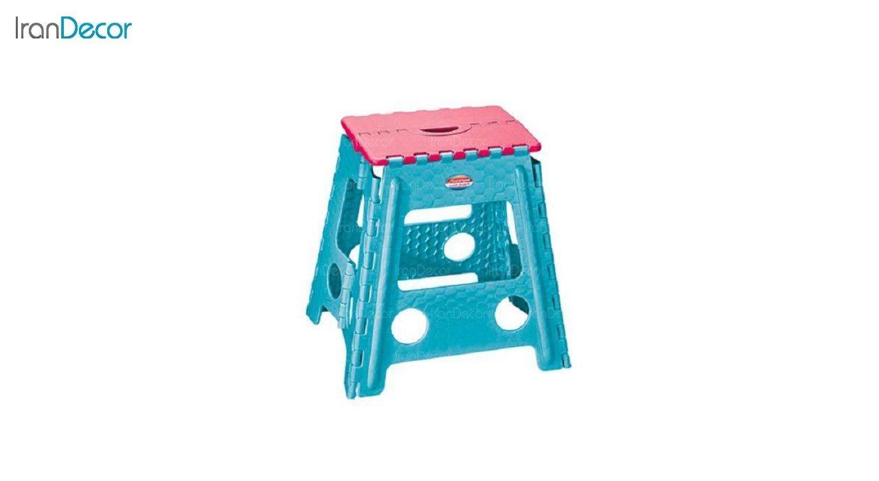 عکس چهارپایه پلاستیکی ناصر پلاستیک مدل 518