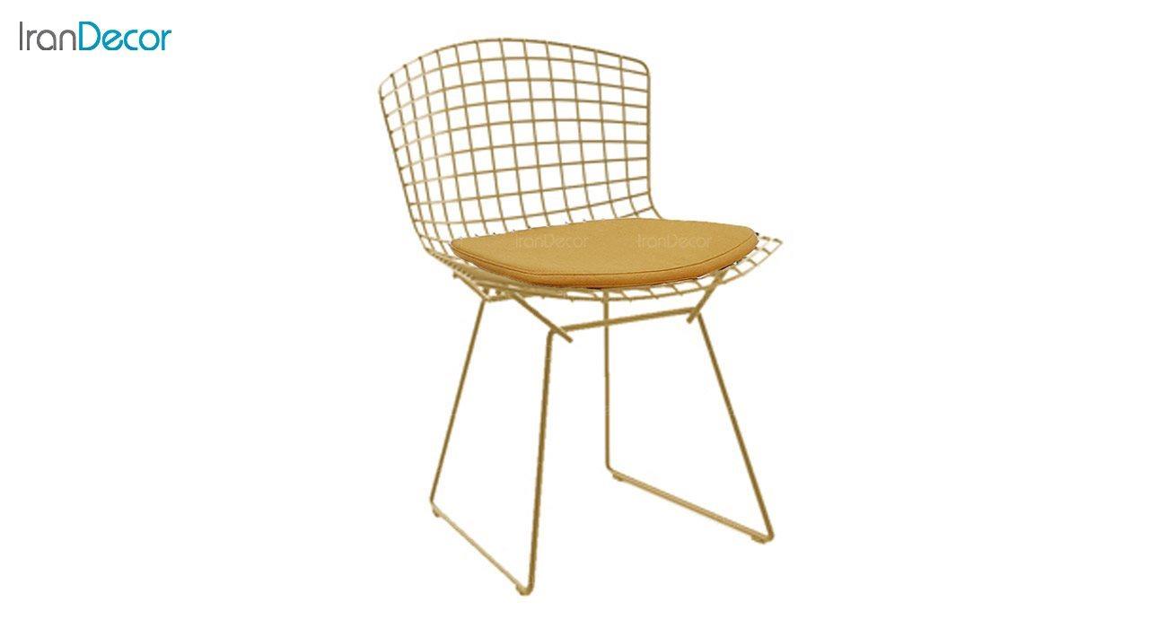 تصویر صندلی نظری مدل برتویا طلایی کد N102