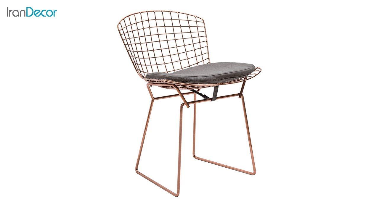 تصویر صندلی نظری مدل برتویا رزگلد کد N102