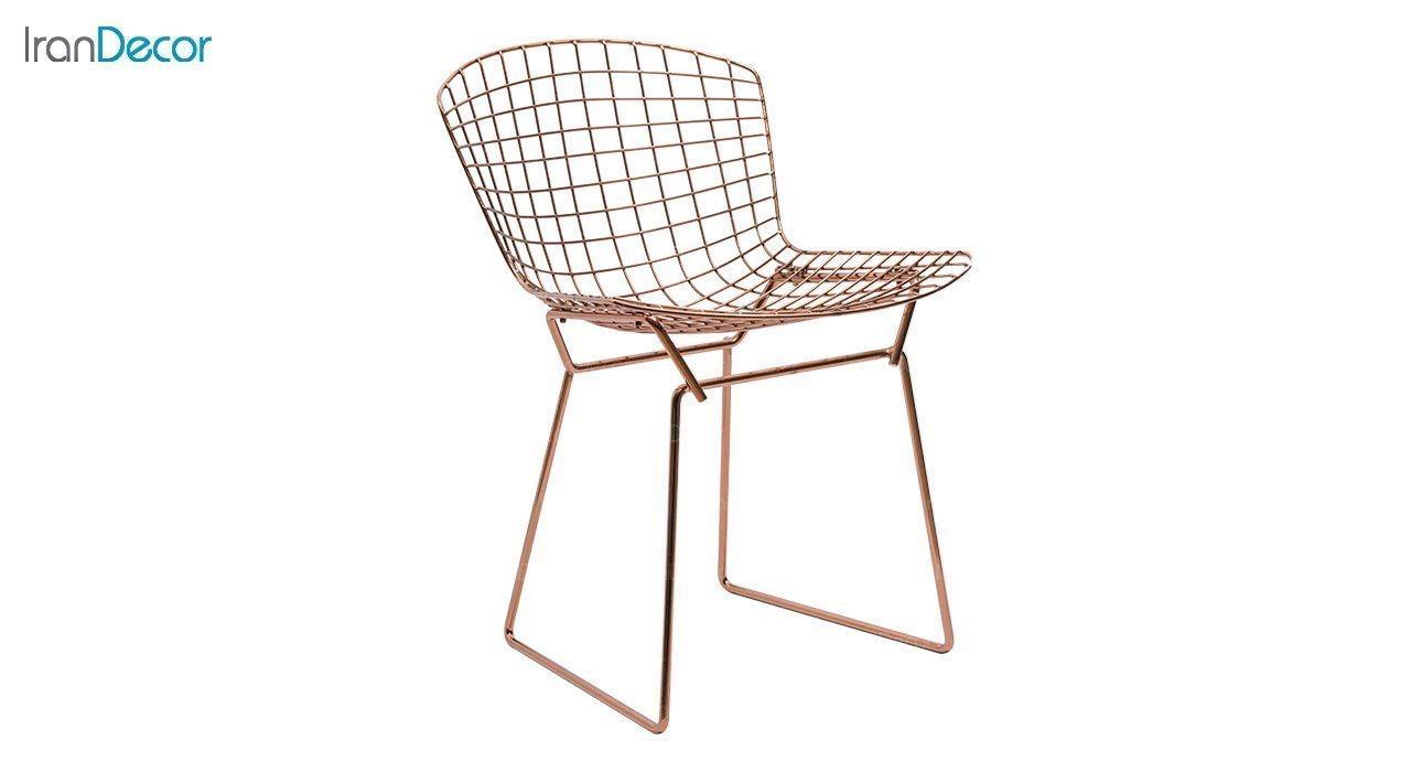 عکس صندلی نظری مدل برتویا رزگلد کد N102