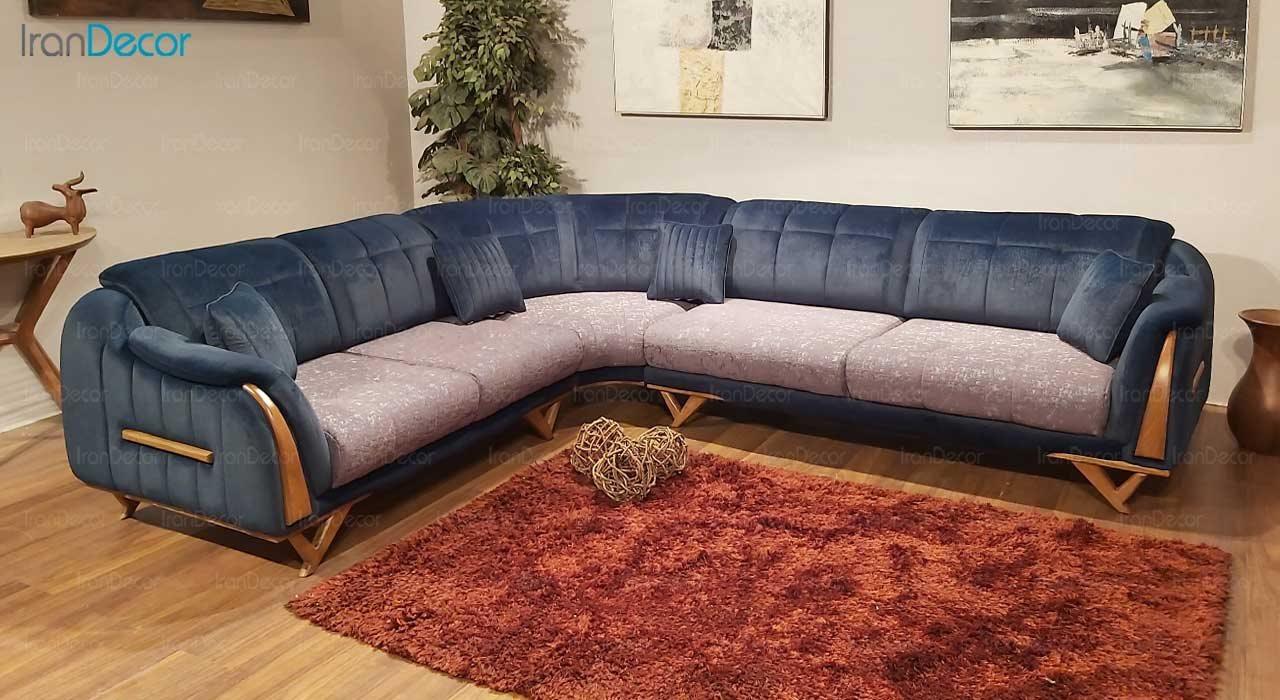 تصویر مبل ال تختخواب شو ویترا مدل موناکو
