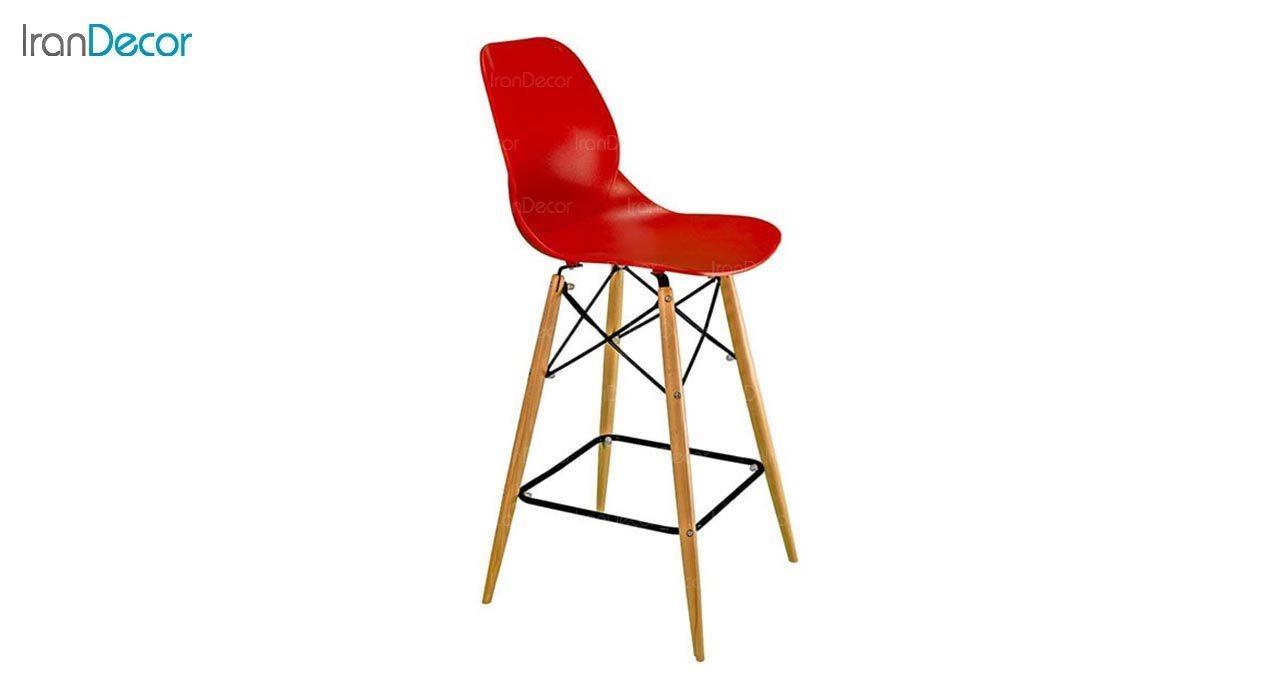 عکس صندلی اپن بنیزان مدل کندو کد K600 با پایه چوبی